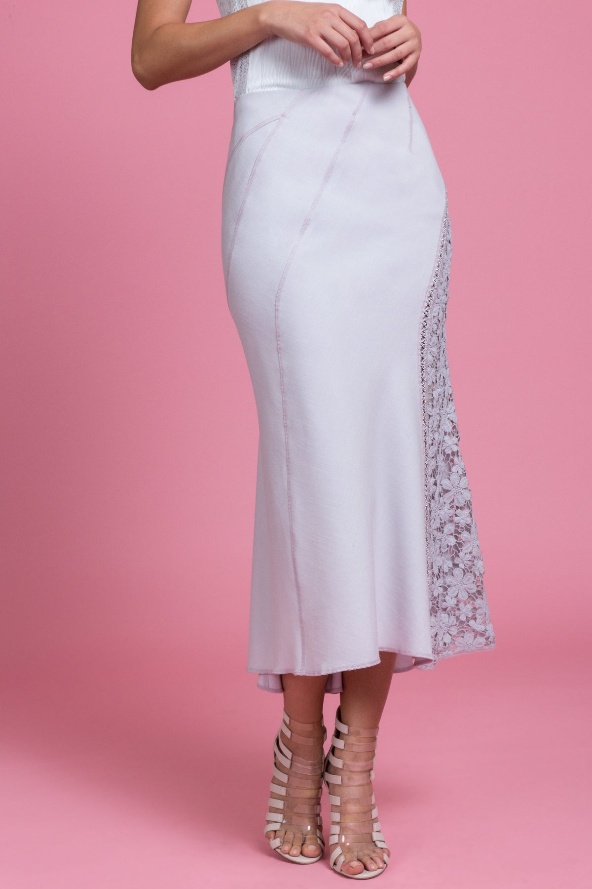Tailored Trumpet Skirt