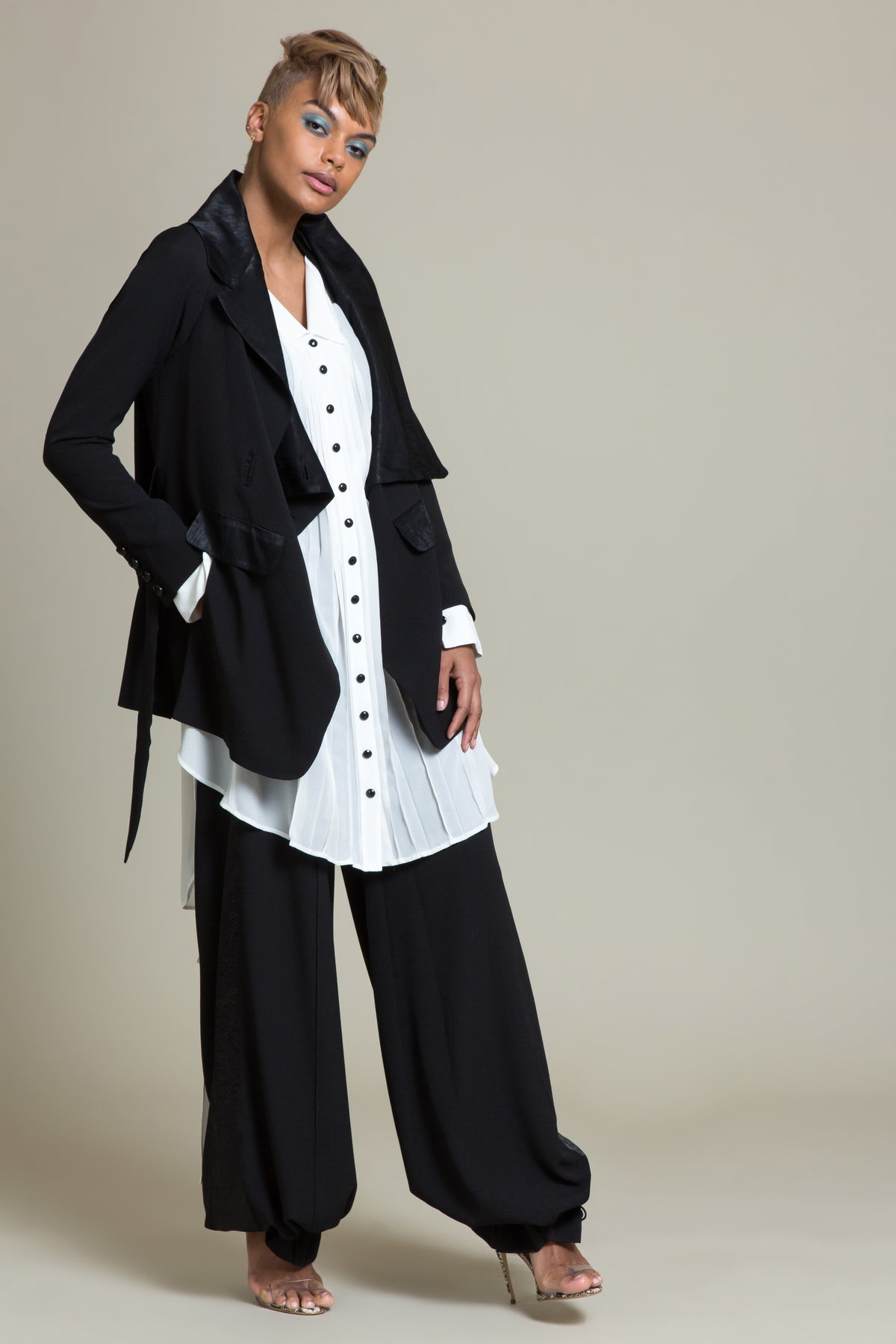 Convertible Tuxedo Smoking Jacket (3519344836683)