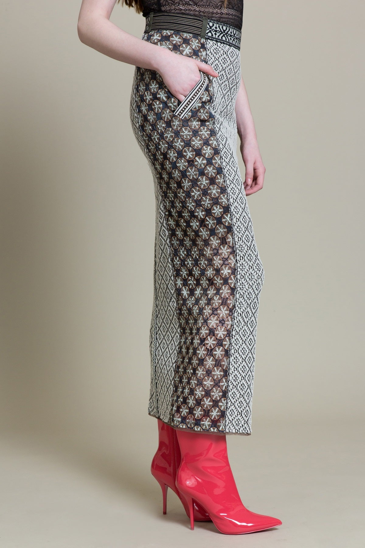 Bungee Maxi Pencil Skirt (3521404895307)