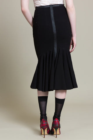 Mascara Twill Mermaid Skirt (3519461392459)