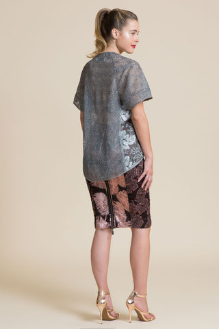 Pewter Lindy Hop Lace Tee (3945371992139)