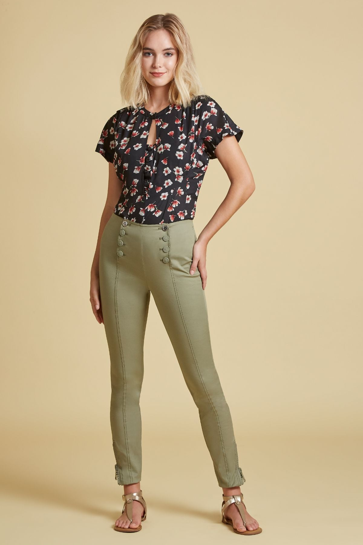 Stretch Twill Tailored Pant (4185322160203)