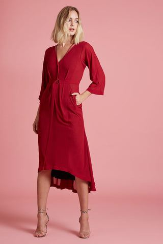 Bow Back Dress (4185270681675)