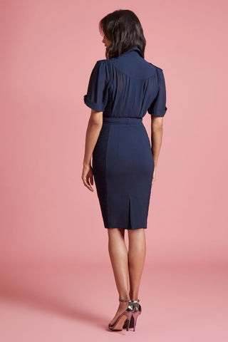 Sheath Shirt Dress (4185492881483)