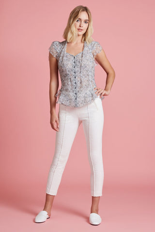 Chantilly Lace Blouse (4185391235147)
