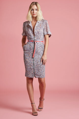 Tropical Reef Sheath Shirt Dress (4185495535691)
