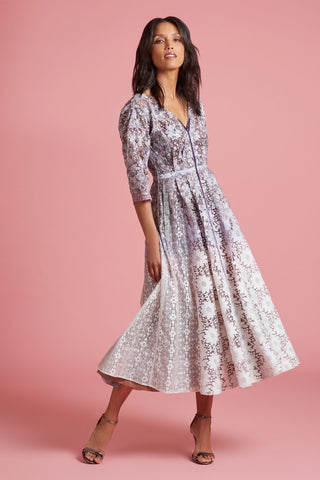 Waterlily Lace Dress (4185410502731)