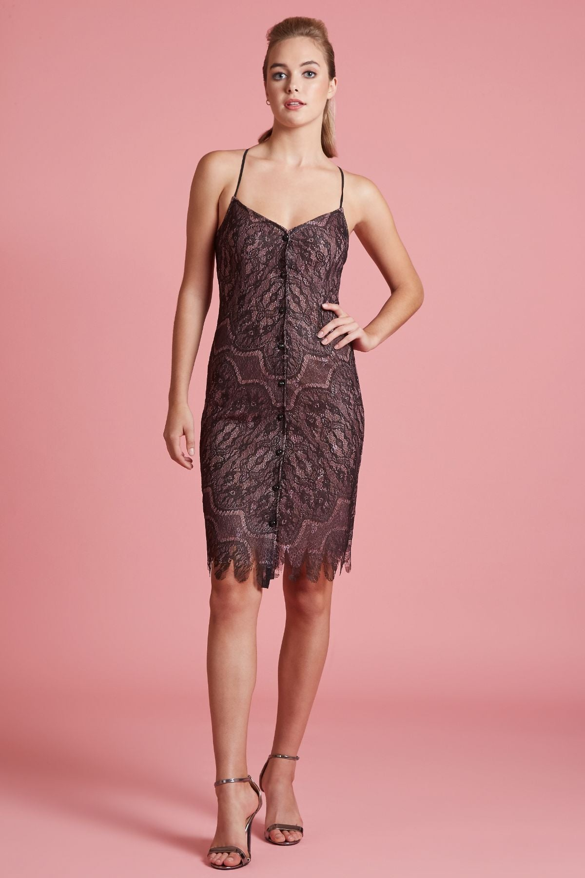 Circling Sequin Dress