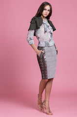 Glen Grey Pencil Skirt (1483808866379)