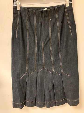 Stretch Denim Skirt - Sample Sale