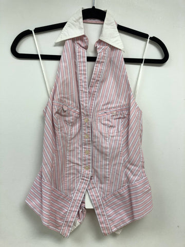Halter Stripe Top - Sample Sale