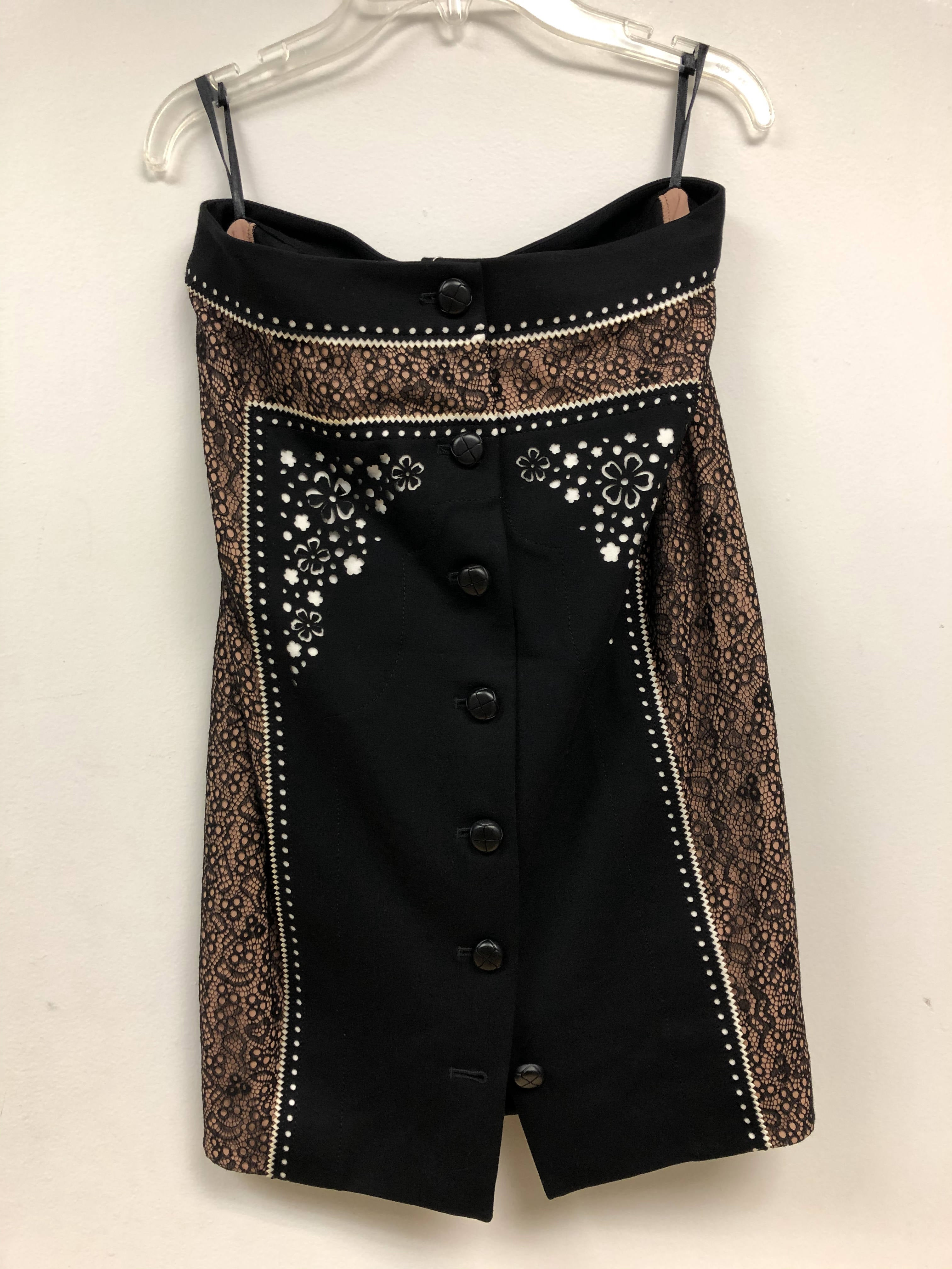 Embroidered Pencil Skirt - Sample Sale