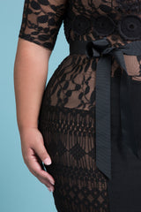 Signature Lace Sheath
