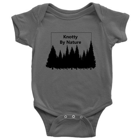 Knotty by Nature Onsie - Outdoor baby clothes