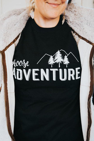Choose Adventure Ladies' short sleeve t-shirt
