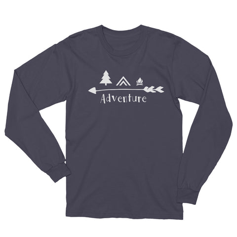 Adventure Long Sleeve T-Shirt 100% MADE IN THE USA