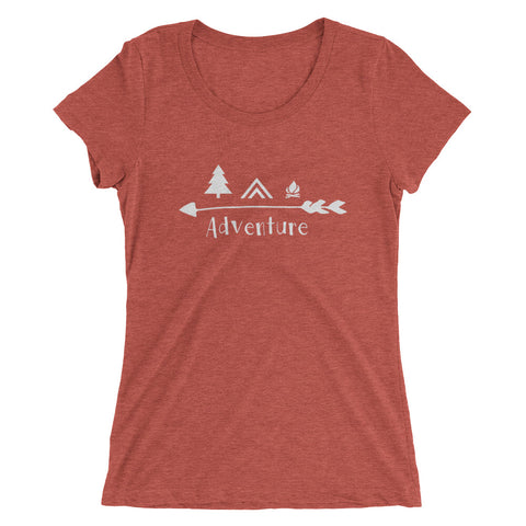 Adventure T Shirt - Ladies' short sleeve t-shirt
