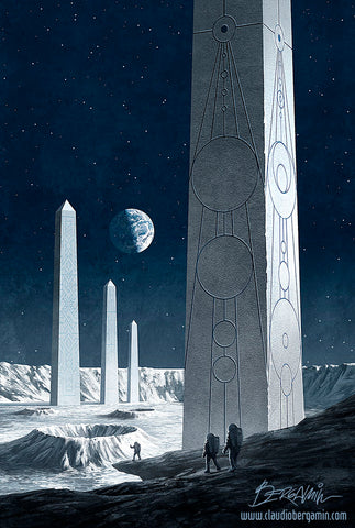 Obelisks on the Moon