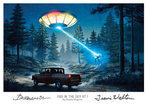 Fire in the Sky Pt.1. (Signed by Walton and Bergamin)