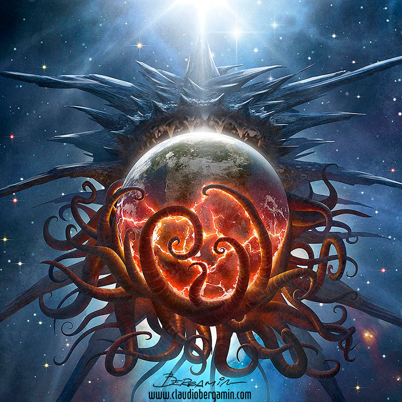 Azathoth Devouring a Planet (HP Lovecraft)