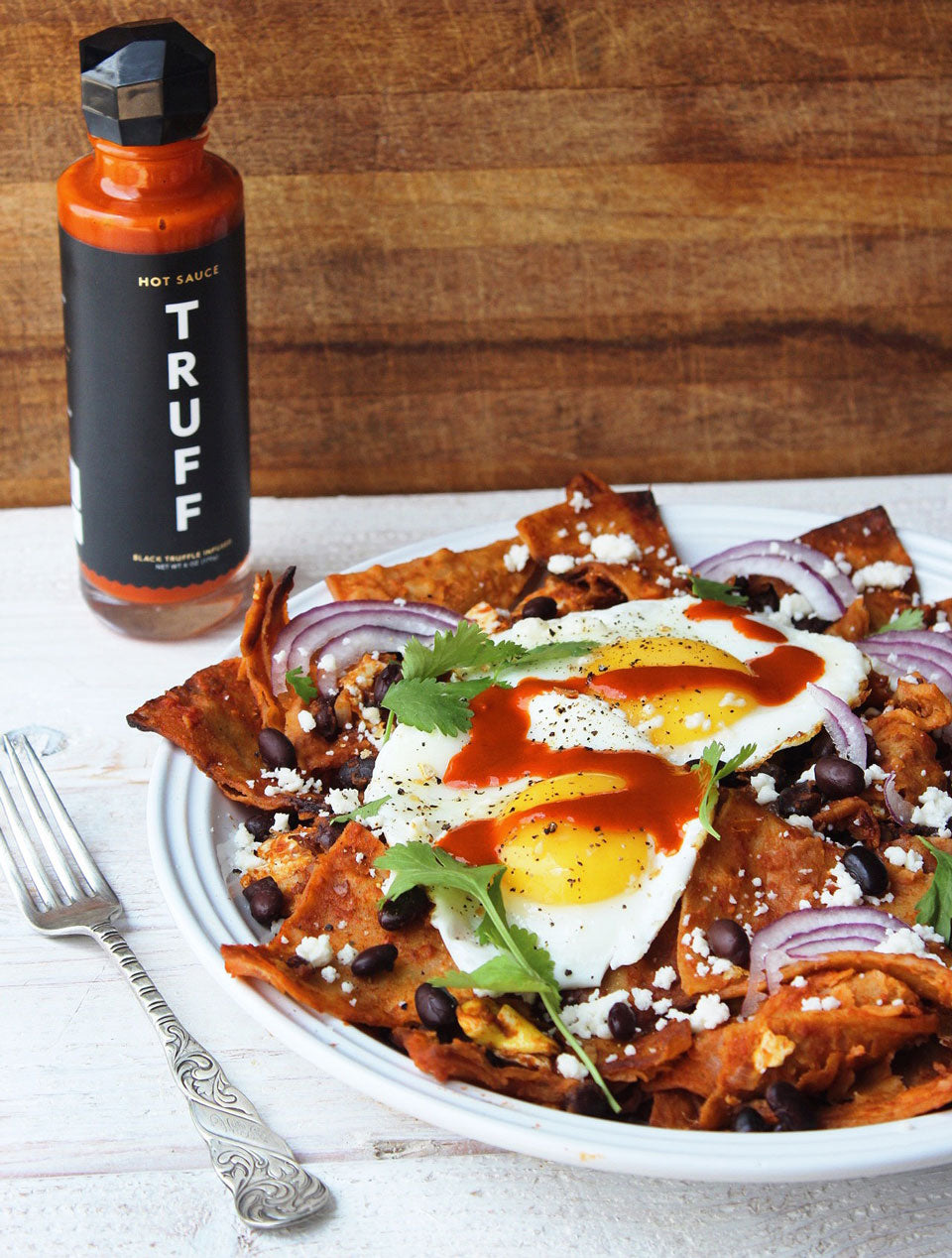 Truff Spicy Truffle Chilaquiles
