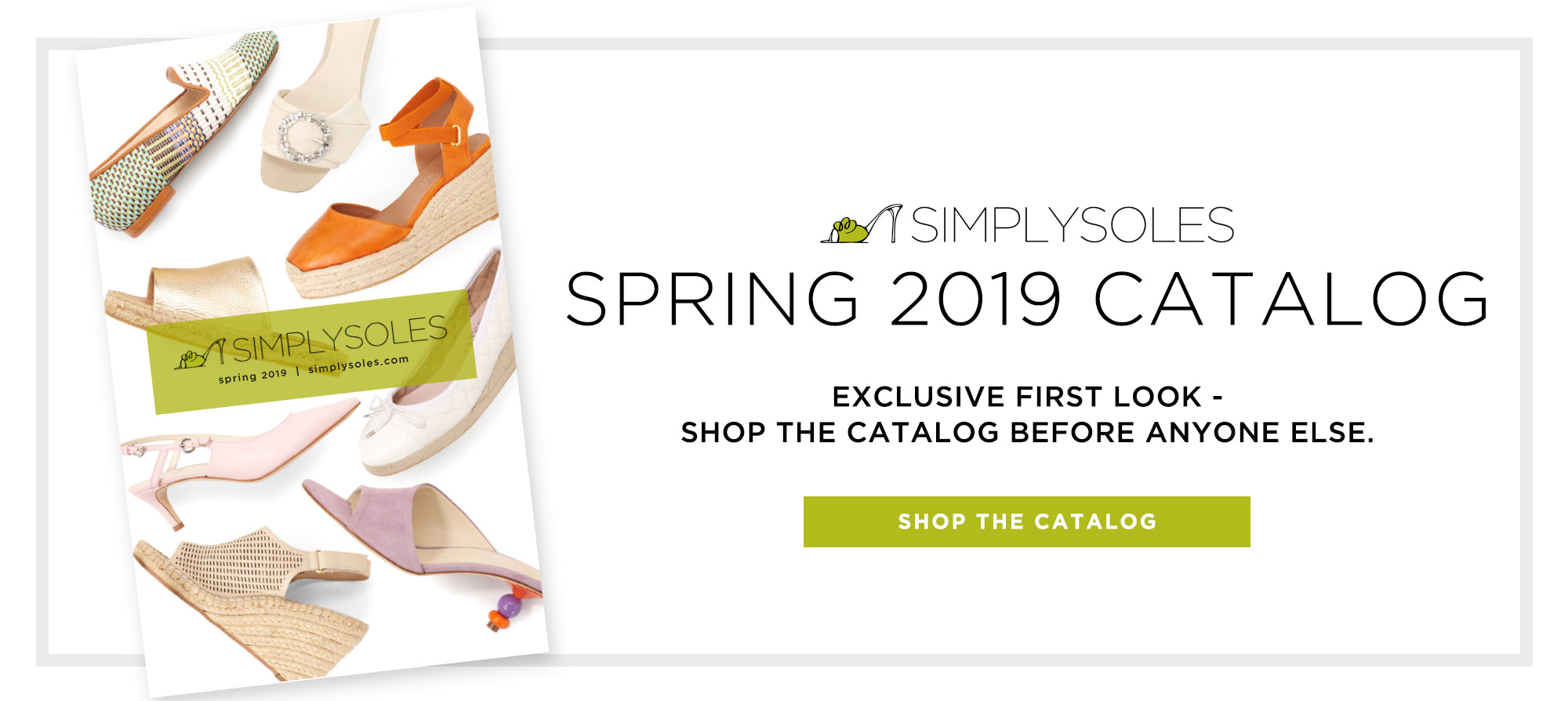 Shop the new catalog featuring Jon Josef for SimplySoles Spring Collection