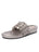 Womens Pewter Wren Metallic Woven Calf