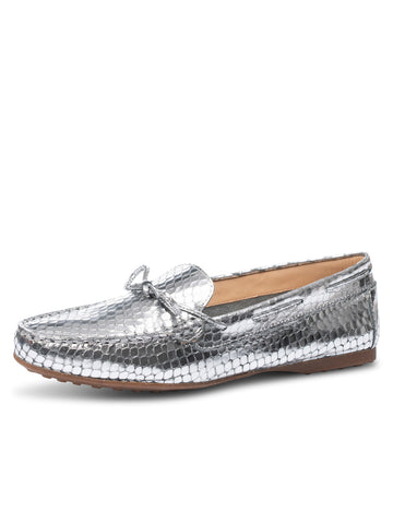 Womens Silver Ouray Snake Print