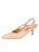 Womens Biscuit Calf Sadetta Pointed Toe Slingback