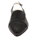 Womens Black Leather Mira 4