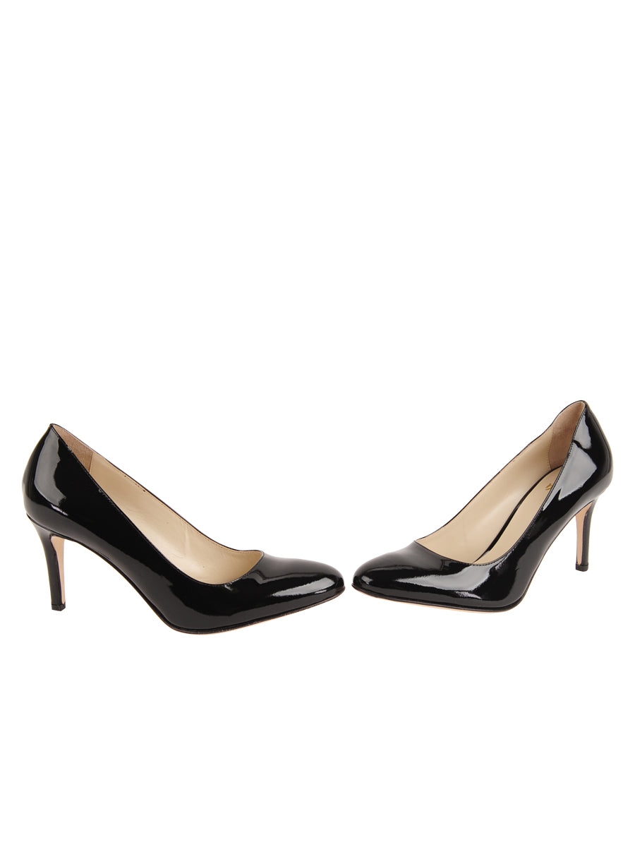 Womens Black Patent Virtue 5