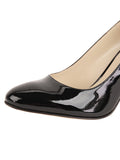 Womens Black Patent Virtue 6