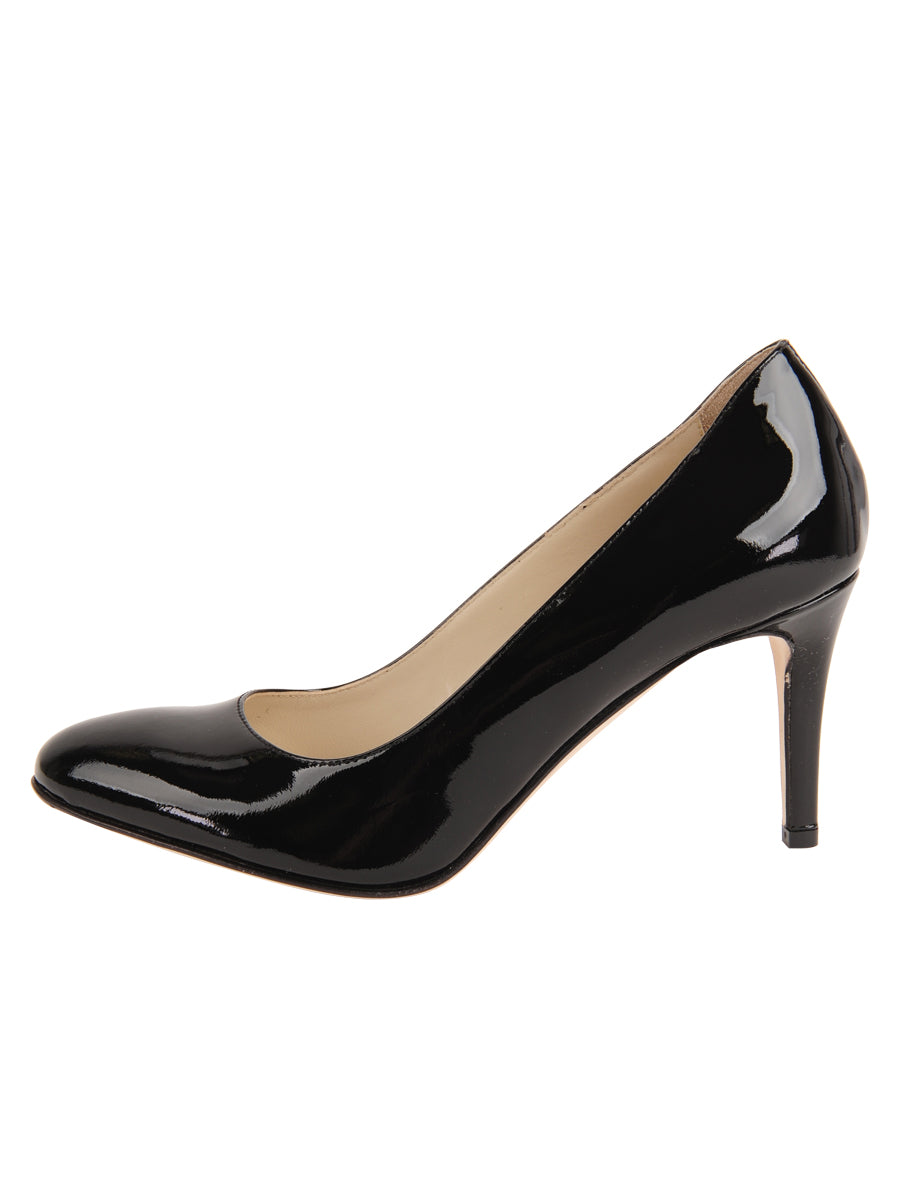 Womens Black Patent Virtue 7