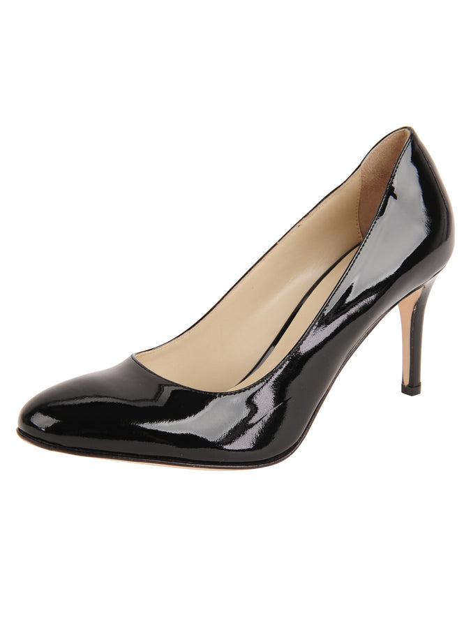 Womens Black Patent Virtue