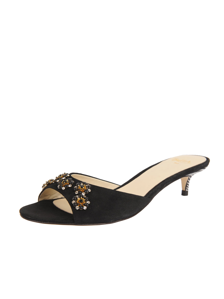 Womens Black Suede Betteye
