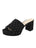 Womens Black Suede Carina