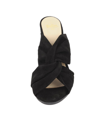 Womens Black Suede Hannah 4 Alternate View