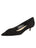 Womens Black Suede Bliss Kitten Heel