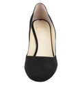 Womens Black Suede Onima 4