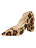 Womens Cheetah Haircalf Kimberly Pointed Toe Pump
