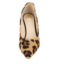 Womens Cheetah Haircalf Kimberly Pointed Toe Pump 4