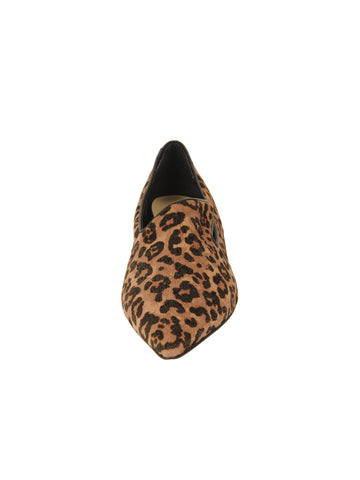 Womens Cheetah Max Pointed Toe Flat 4 Alternate View