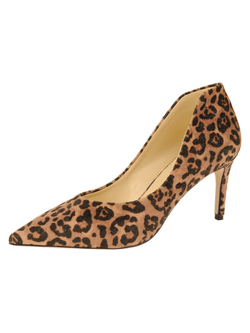 Womens Cheetah Emmy Pointed Toe Pump