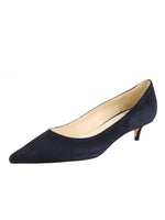 Dark Navy Suede Color