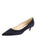 Womens Dark Navy Suede Born Pointed Toe Kitten Heel