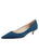 Womens Denim Suede Born Pointed Toe Kitten Heel