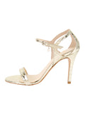 Womens Gold Metallic Haley 7