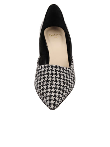 Womens Houndstooth Esty Pointed Toe Pump 4 Alternate View