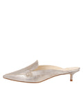 Womens Ice Vintage Leather Bablina Kitten Heel Mule 7