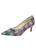 Womens Metallic Yarn Nova Pointed Toe Pump